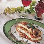 Classic Lasagna with Meat Sauce, Tomatoes and Béchamel Sauce