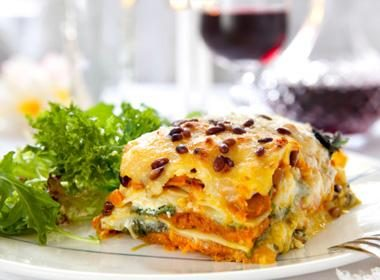Roasted Ratatouille Lasagna