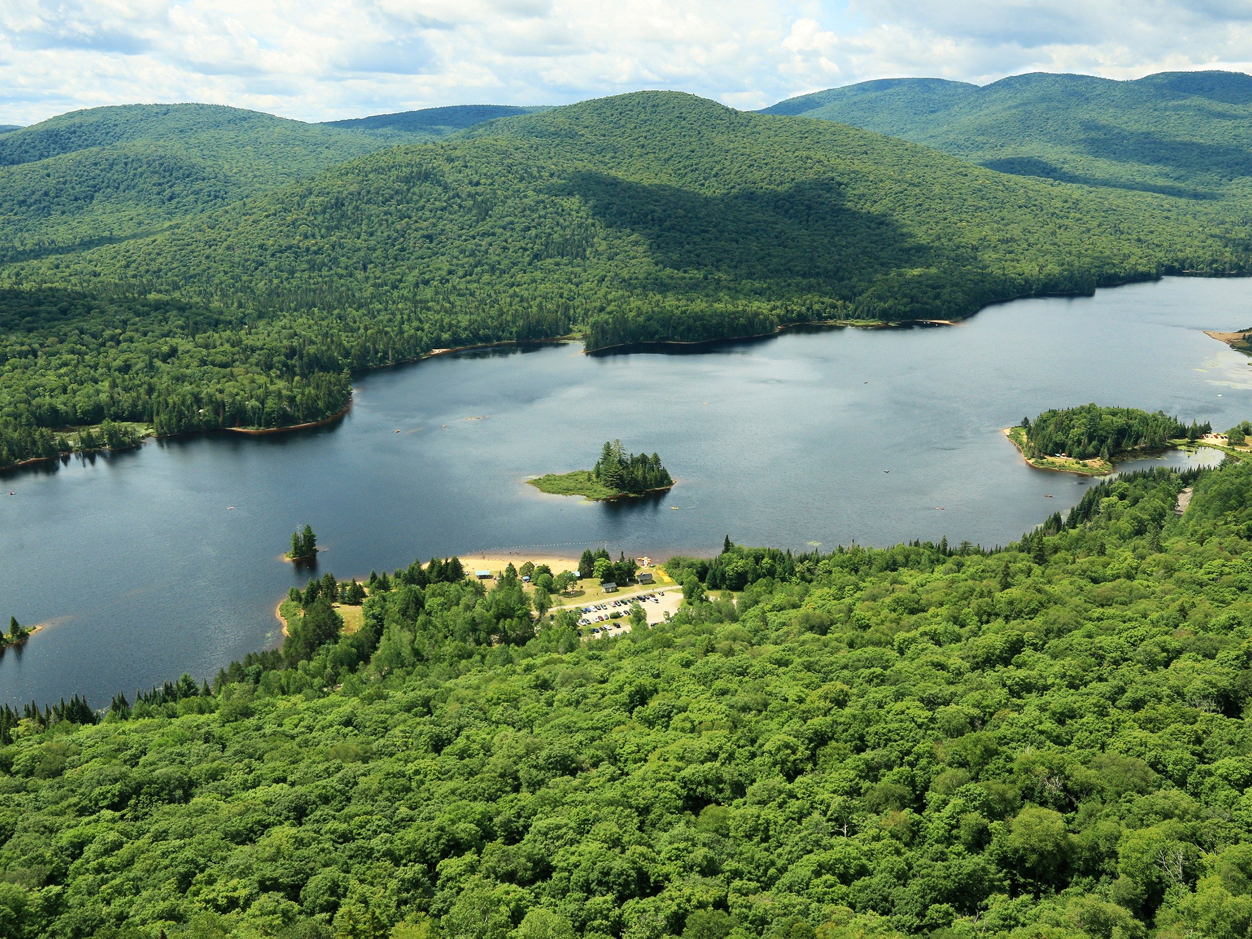 The Laurentians, Quebec