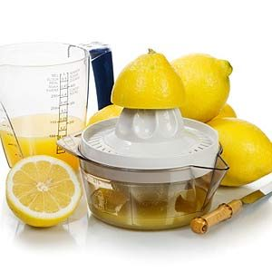 1. Vinegar or Lemon Juice