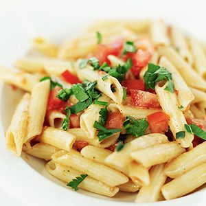 2. Coat Pasta for a Delicious Dinner