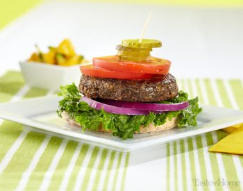 Taste of Home Canada: Lentil Cashew Burgers