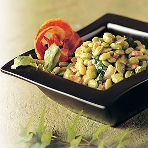 Lima Beans with Pancetta