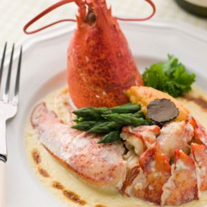 Lobster à la Nage