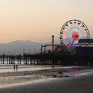 2. Santa Monica Beach, California