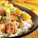 Coconut Mango Chicken Stir-Fry