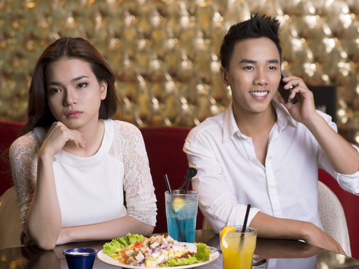 4. Be Courteous on a First Date