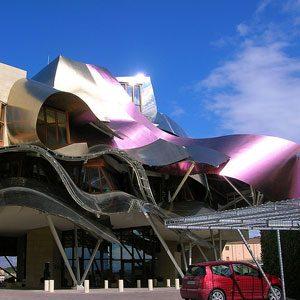 6. Hotel Marques de Riscal, Spain