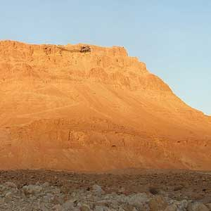 6. Hike to the top of Masada