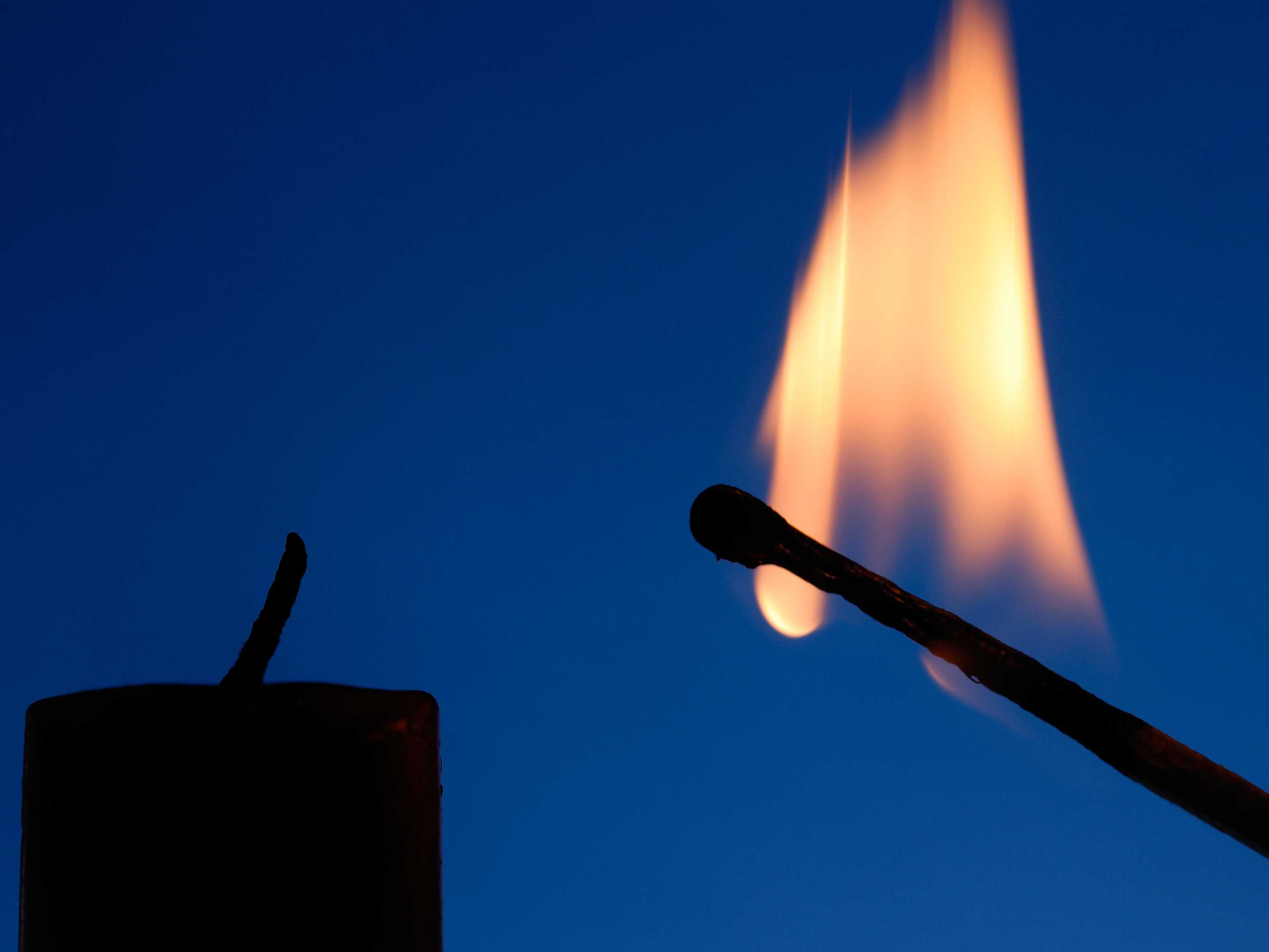 A Candle and Matches
