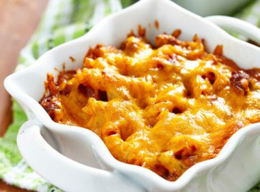 Macaroni With Cheese and Ground Beef
