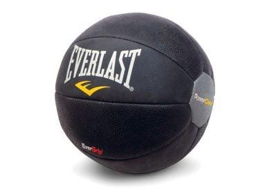 Everlast Leather Medicine Ball