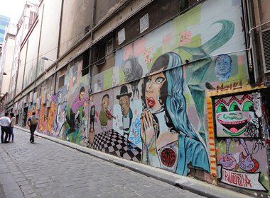 Awesome Destination for Graffiti Art: Melbourne, Australia