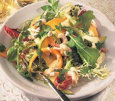 Cantaloupe, Avocado, and Shrimp Salad