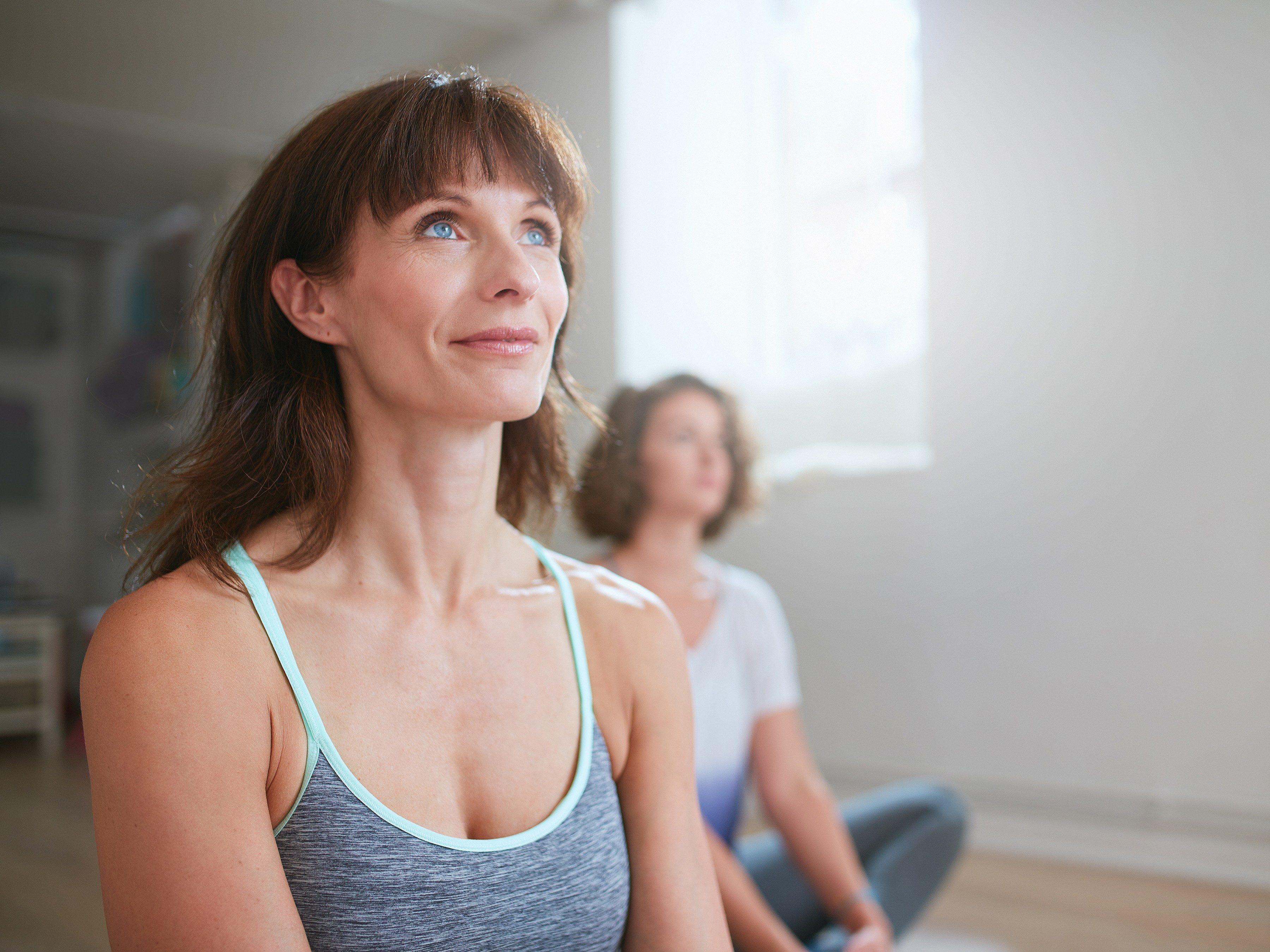 1. Practice deep breathing.