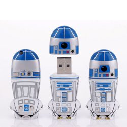 3. MIMOBOT Designer USB Flash Drives (2-16 GB)