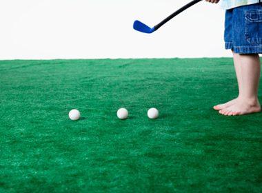 Make a Miniature Golf Course