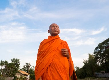 Chat With a Monk - Chiang Mai, Thailand