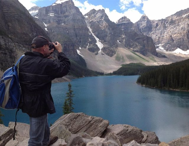 Gary at Moraine Lake
