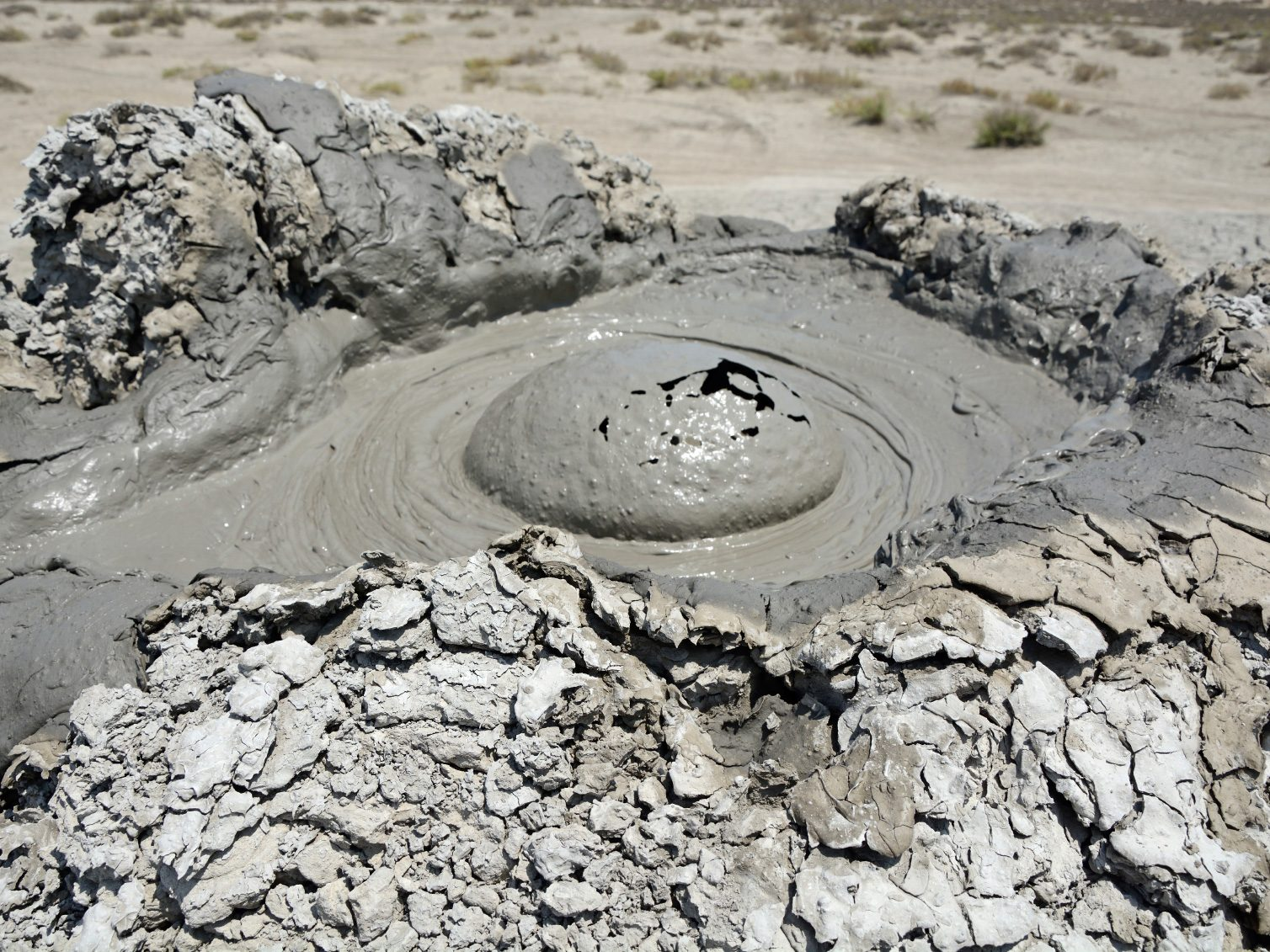 Travel: Mud Volcanoes, Azerbeijan