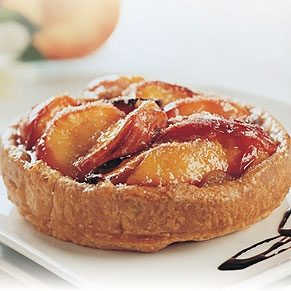 Nectarine Pie with Balsamic Vinegar