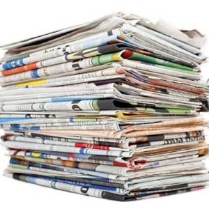 2. Bag Your Recycled Newspaper