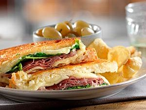 Niagara Gold Crunch Grilled Cheese Sandwich Recipe
