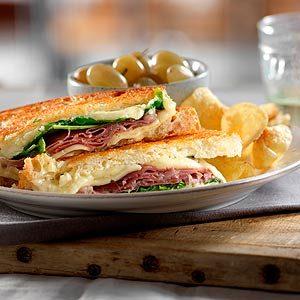 Niagara Gold Crunch Grilled Cheese Sandwich