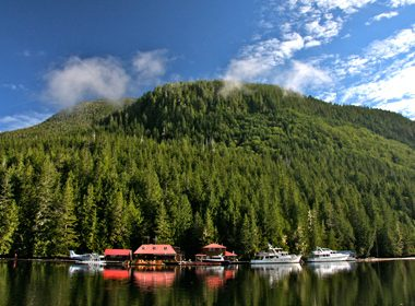 Nimmo Bay Wilderness Resort, British Columbia