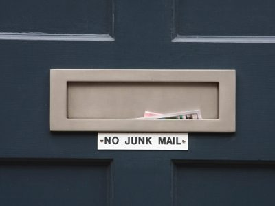 How to Cut Down on Waste: No Junk Mail