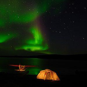 3. Camp Under the Northern Lights, Northwest Territories