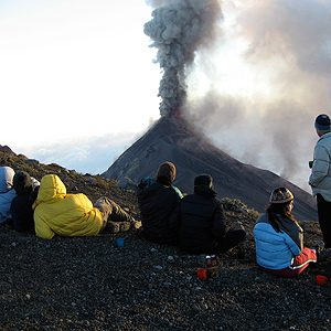 2. Camping on a Volcano, Guatemala