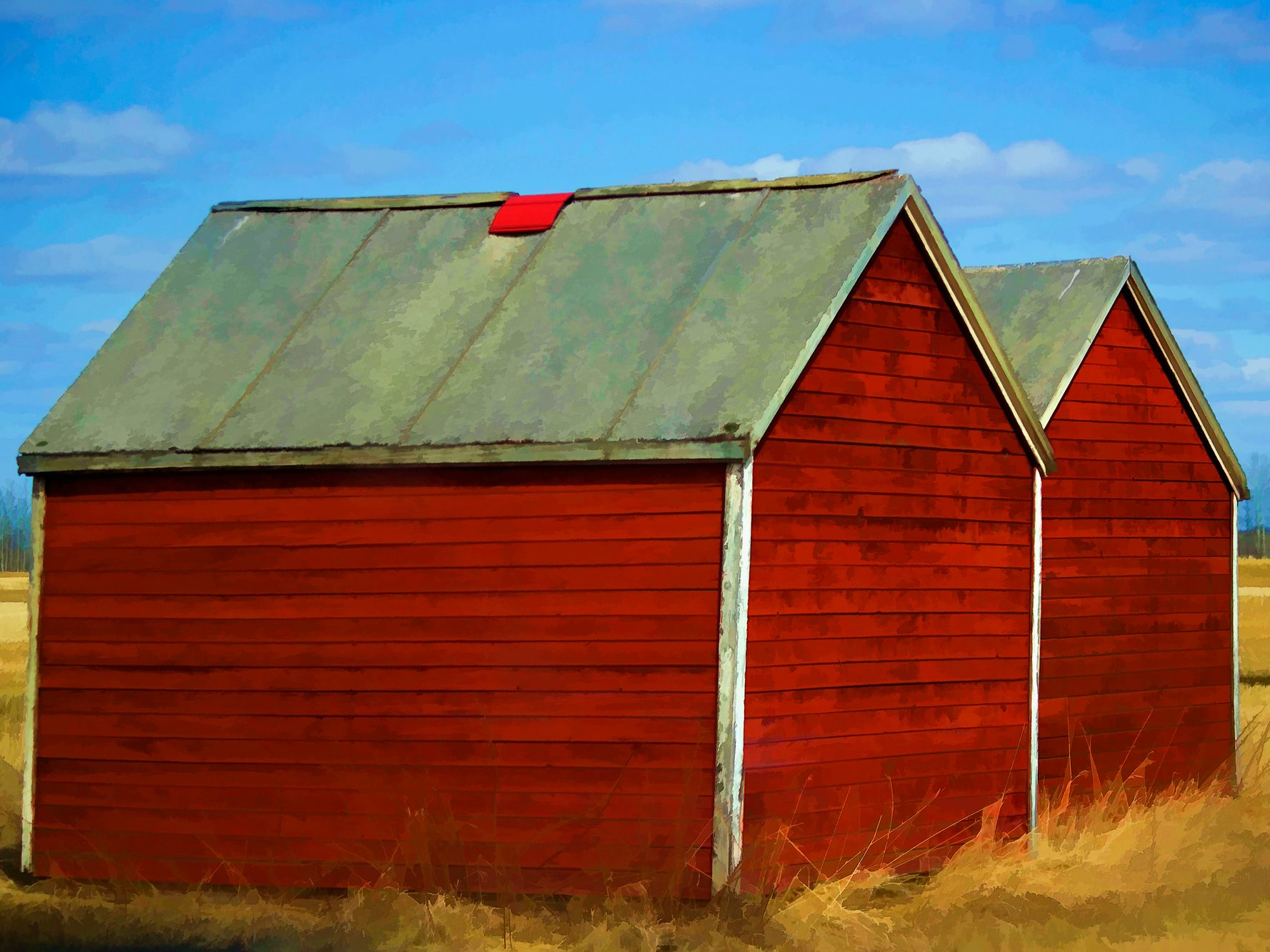 Sheds of Red