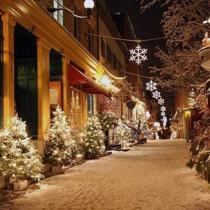 6. Old Quebec City, Quebec City, Que.