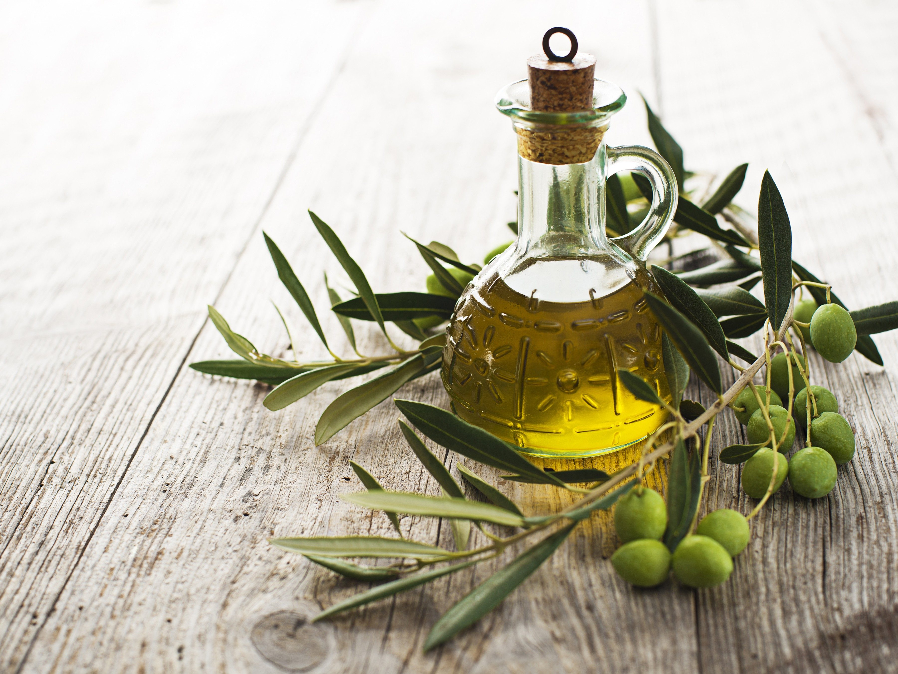 7. Go Natural with Olive Oil