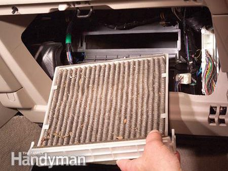 Out with the Old Air Filter