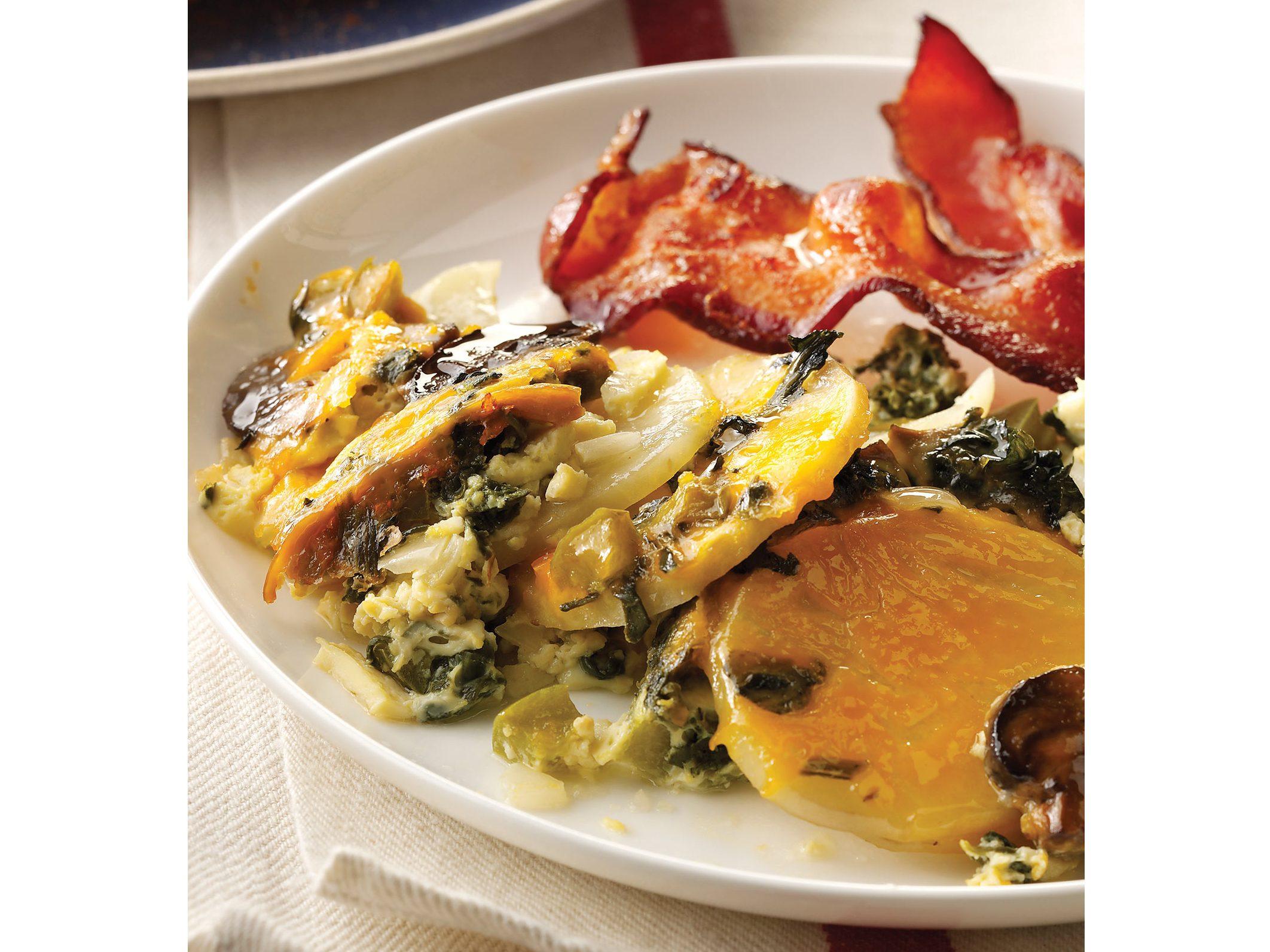 Overnight Vegetable Egg Breakfast Recipe