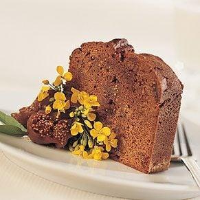 Chocolate, Fig and Marsala Loaf