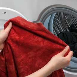 Apply Stain Remover To Clothes