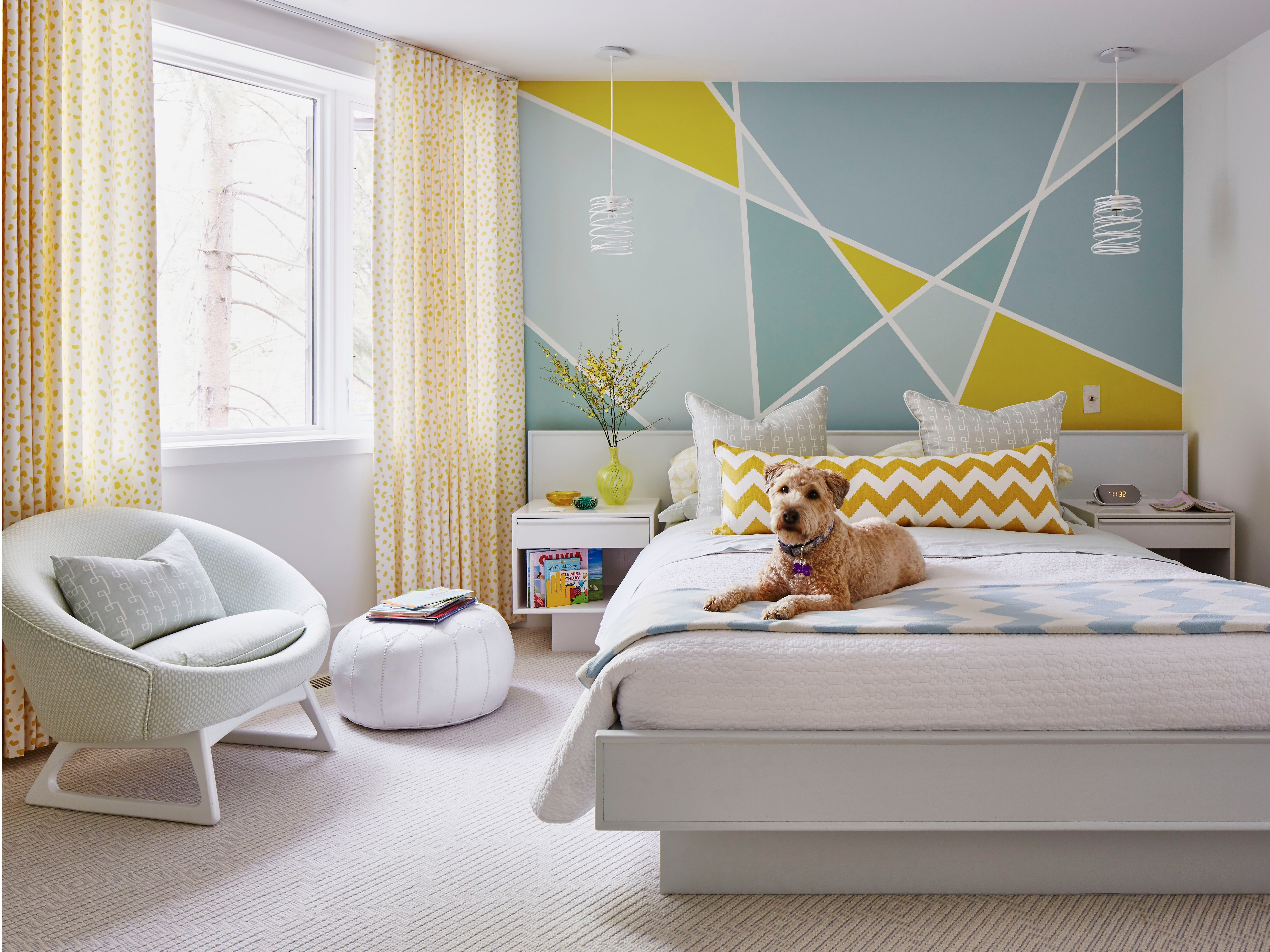 Thrifty decorating tip #1: Paint a focal wall