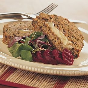 Cheese-Stuffed Veal Loaf