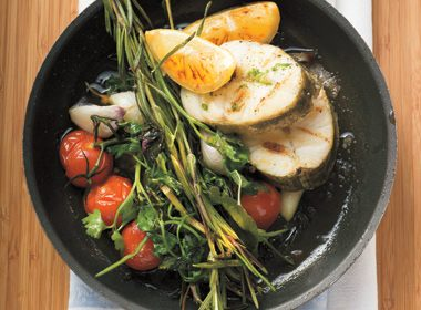 Savory Pan-Roasted Fish