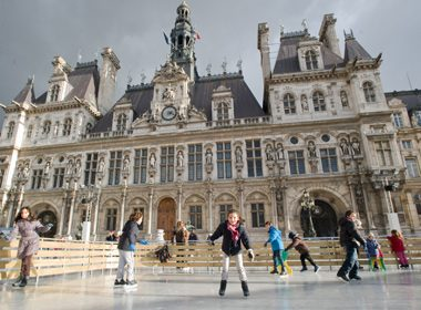 Patinoire de L'Hôtel de Ville - Paris, France