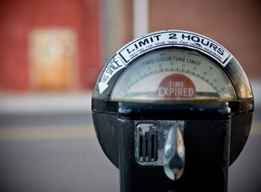 Not Putting Money in the Parking Meter