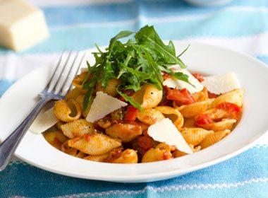Easy Vegetable Pasta
