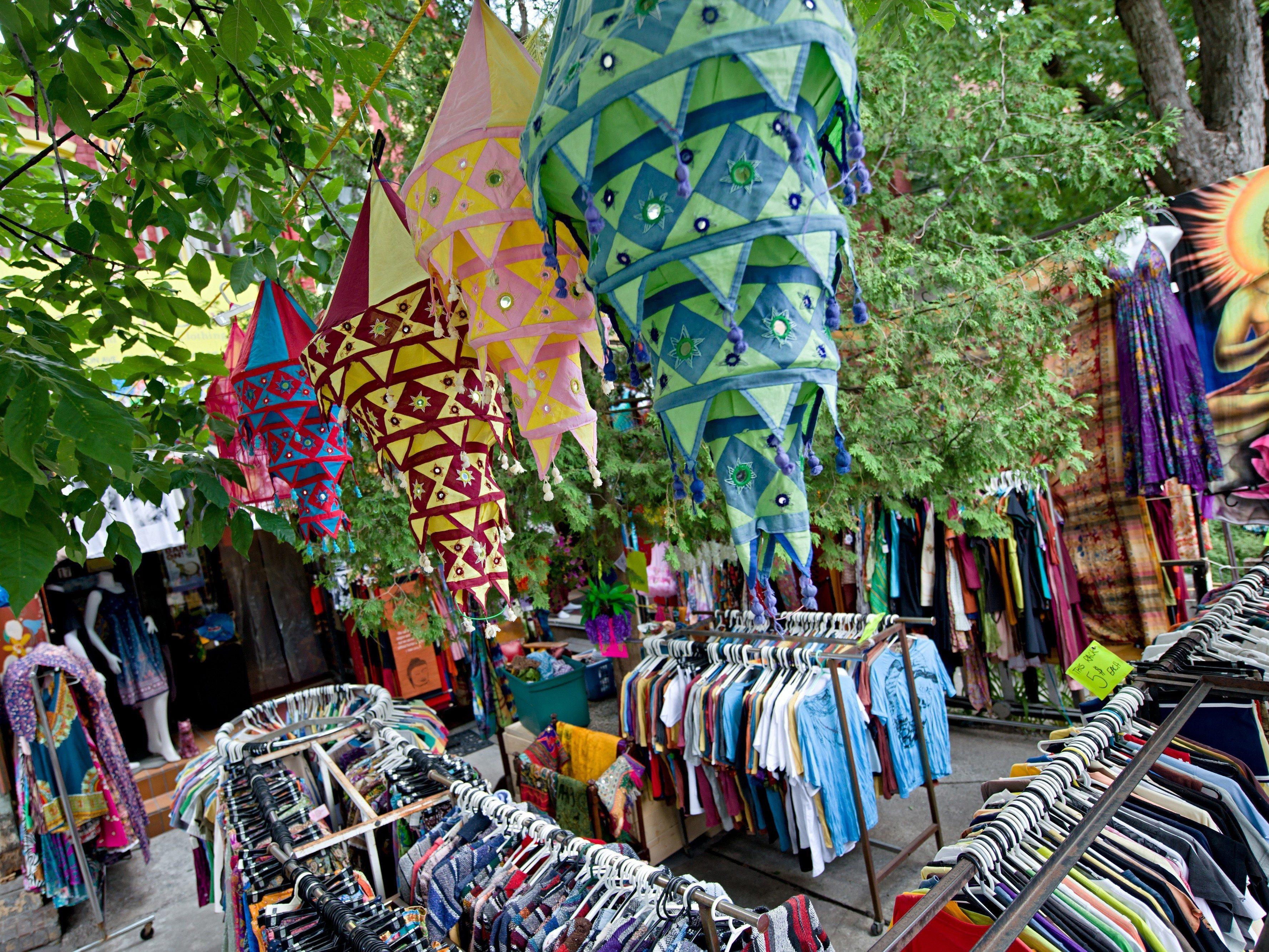 13. Pedestrian Sundays at Kensington Market
