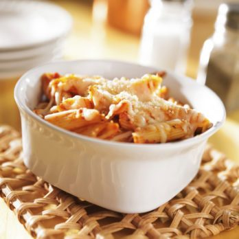 Penne With Roasted Squash and Bacon