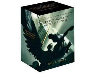 Percy Jackson & The Olympians Box Set by Rick Riordan