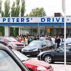 Peter's Drive In, Calgary