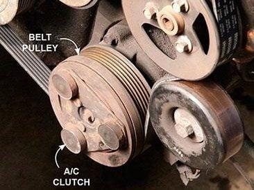 Check the Compressor Clutch